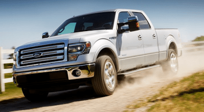 2013 Ford F-150 SuperCrew silver