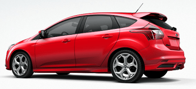 2013 Ford Focus ST race red
