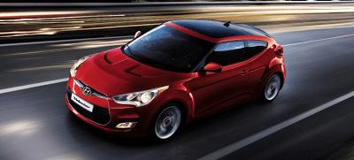 2013 Hyundai Veloster Boston red