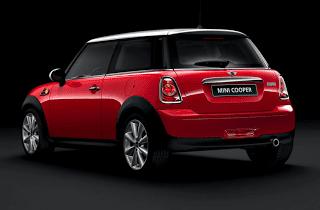 2013 Mini Cooper hardtop red