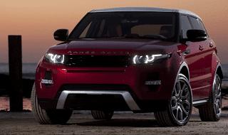 2013 Land Rover Range Rover Evoque Firenze Red Fuji white roof