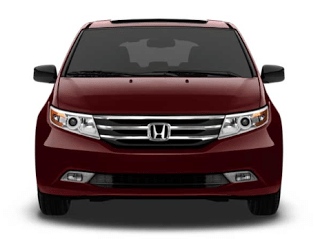 2013 Honda Odyssey dark cherry pearl