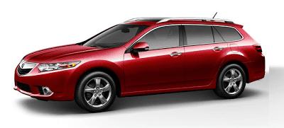 2013 Acura TSX Sport Wagon Milano Red