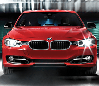 2013 BMW 335i red front end