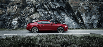 2013 Bentley Continental GT V8 Dragon Red