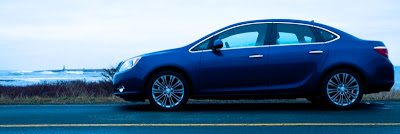 2013 Buick Verano Turbo side profile