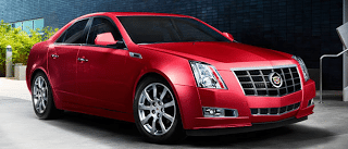 2013 Cadillac CTS Sport Sedan Crystal Red