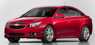 2013 Chevrolet Cruze Crystal Red