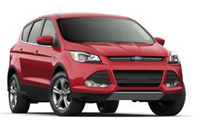 2013 Ford Escape SE 4wd red