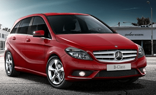 2013 Mercedes-Benz B200 Sports Tourer Jupiter Red