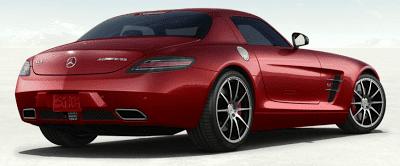 2013 Mercedes-Benz SLS AMG GT LeMans Red