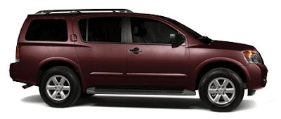 2013 Nissan Armada midnight garnet