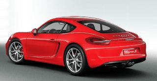 2013 Porsche Cayman S Guards red