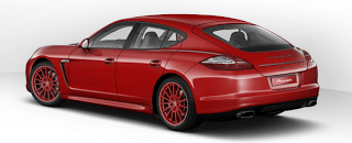 2013 Porsche Panamera V6 Ruby Red
