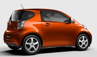 2013 Scion iQ hot lava