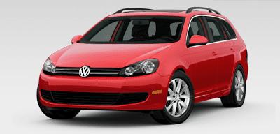 2013 Volkswagen Jetta SportWagen Tornado Red