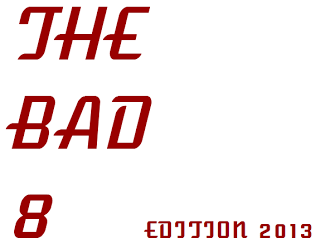 2013's The Bad 8 logo
