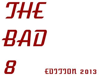 2013 the bad 8 logo
