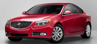 2013 Buick Regal Crystal Red