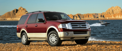 2013 Ford Expedition Red