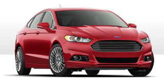 2013 Ford Fusion Titanium AWD Ruby Red