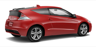 2013 Honda CR-Z Milano Red