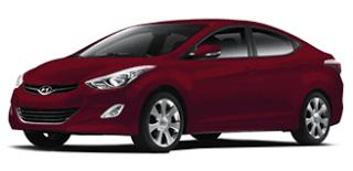 2013 Hyundai Elantra Sedan Sparkling Ruby