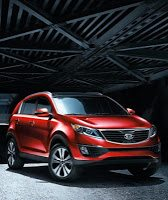 2013 Kia Sportage Red