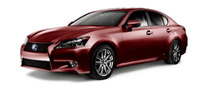 2013 Lexus GS450h Crimson red