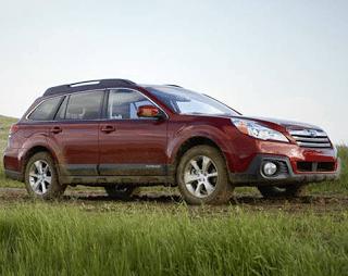2013 Subaru Outback 2.5i Premium Venetian Red