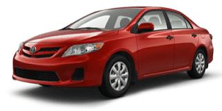 2013 Toyota Corolla Barcelona Red