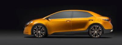 2013 Toyota Furia Corolla Concept