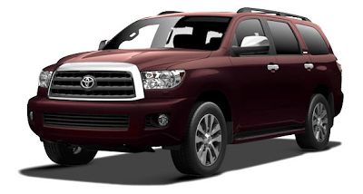 2013 Toyota Sequoia Sizzling Crimson