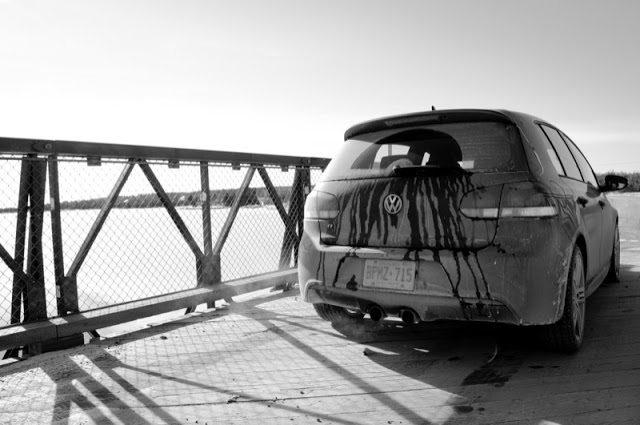 2013 Volkswagen Golf R rear angle