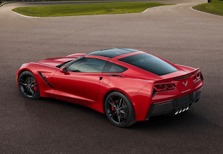 2014 Chevrolet Corvette C7 Stingray Red
