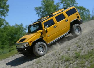 2004 Hummer H2 Yellow