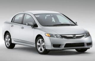 2009 Honda Civic Sedan silver