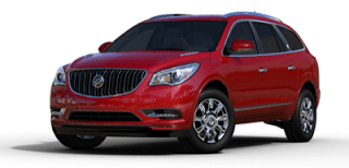 2013 Buick Enclave crystal red