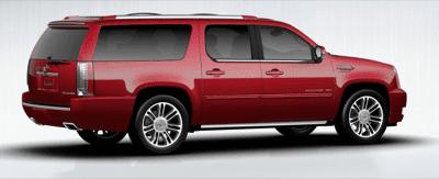 2013 Cadillac Escalade ESV Crystal Red
