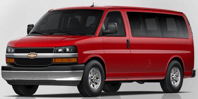 2013 Chevrolet Express passenger van victory red