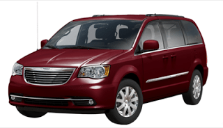 2013 Chrysler Town & Country deep crystal red