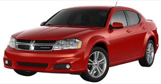 2013 Dodge Avenger Red