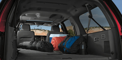 2013 Ford Expedition Max Cargo Area