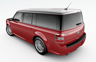 2013 Ford Flex SEL AWD Ruby Red