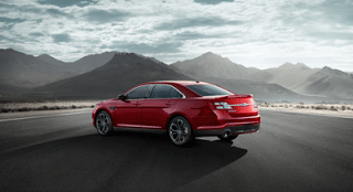 2013 Ford Taurus SHO Ruby Red