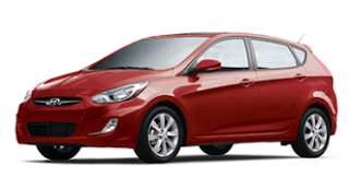 2013 Hyundai Accent Boston Red