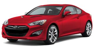 2013 Hyundai Genesis Coupe Tsukuba Red