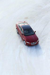 2013 Jaguar XJ AWD Red