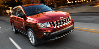 2013 Jeep Compass Red