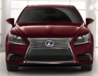 2013 Lexus LS600hL Matador Red